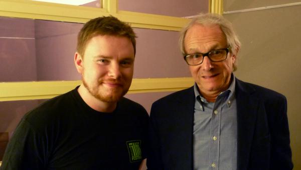 Ken Loach with Jim Ross | TakeOneCinema.net
