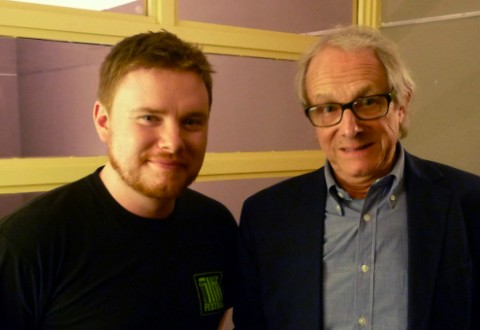 Ken Loach with Jim Ross | TakeOneCFF.com