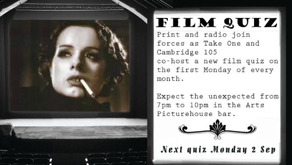 Film Quiz 2nd Sept