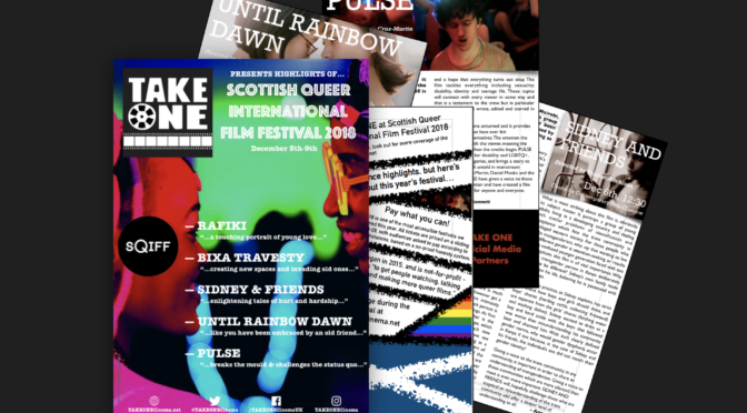 SQIFF 2018 Preview Magazine | TAKE ONE | TAKEONECinema.net