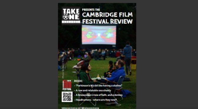 Cambridge Film Festival Preview Magazine 2018